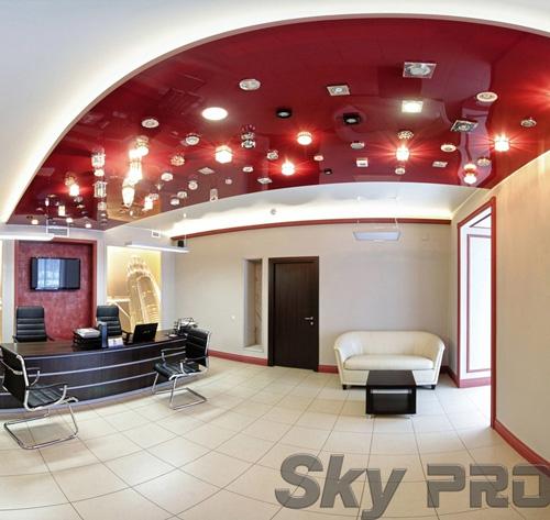 светильники в офисе SkyPRO в Хвойной